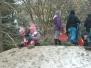 Družina na sněhu