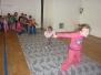 Pravidelné cvičení v tělocvičně