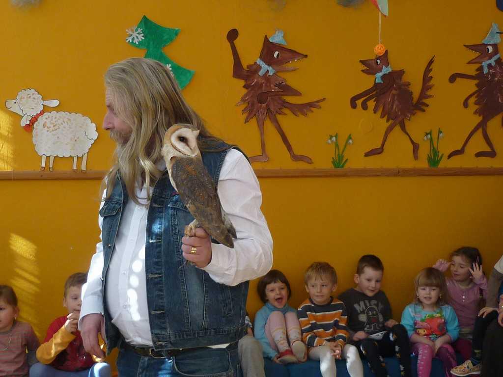 Ptáci ve školce