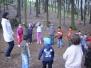 Zajíčci v lese